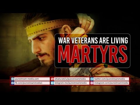 War Veterans are Living Martyrs | Imam Sayyid Ali Khamenei | Farsi Sub English