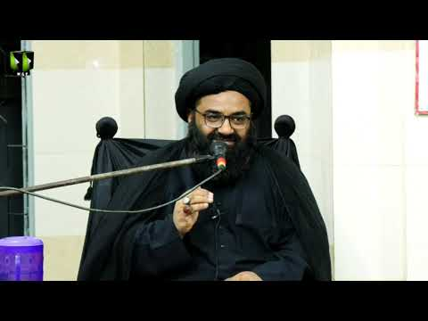[04] Topic: Dushman Shanasi | H.I Kazim Abbas Naqvi | Muharram 1441/2019 - Urdu