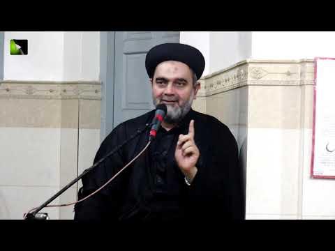 [01] Topic: Mojizaat Imam Hasan (as) Or Tarekh e Azwaaj e Masoom | H.I Muhammad Ali Naqvi - Urdu