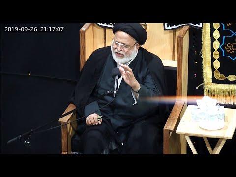 [Majlis01]  Maulana Safi Haider 26th Muharram 1441/2019 Urdu