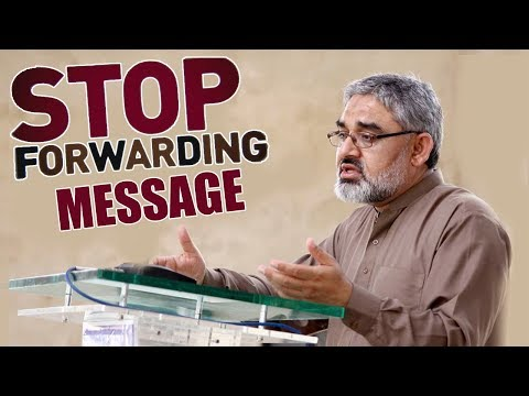 [Clip] Stop forwarding messages   Iraq Kay halat   H.I syed Ali Murtaza Zaidi 2019 Urdu
