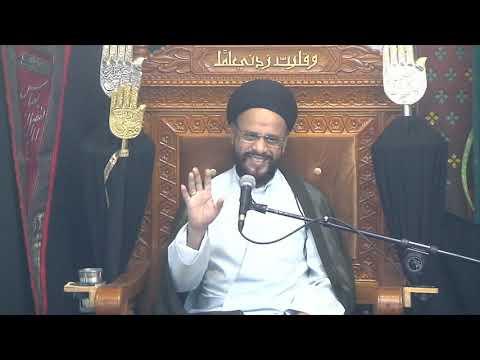 1st Majlis Ashra-E-Zainabia a.s Shab 12 Safar 1441/10.10.19 Topic:Critical Thinking I H I Syed Muhammad Zaki Baqri-Urdu
