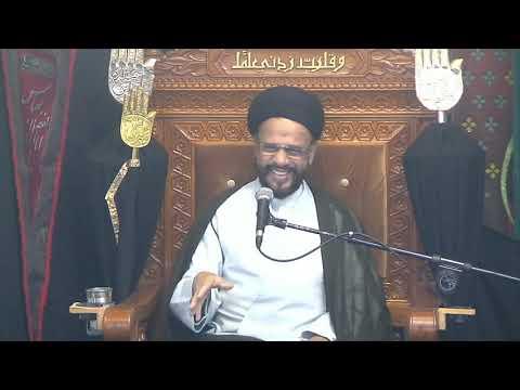 2nd Majlis Ashra-E-Zainabia Shab 13rd Safar 1441/11.10.2019 Topic:Critical Thinking I H I Syed Muhammad Zaki Baqri-Urdu