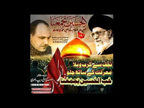 نوحہ - حب الحسینؑ یجمعنا - سید علی دیپ رضوی - صفر المظفر ۱۴۴۱ - Urdu
