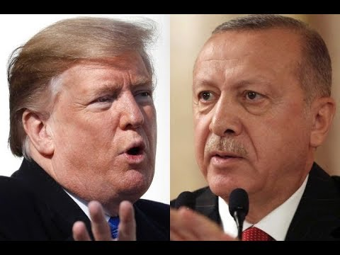 [16/10/19] US slaps sanctions on Turkey over Syria offensive - English
