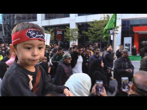 Sister Shyrose - Arbaeen Walk Toronto (Oct  20, 2019) - English