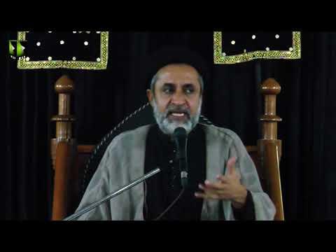 [09] Topic: Karbala Sirat e Mustaqeem | H.I Muhammad Haider Naqvi | Safar 1441 - Urdu
