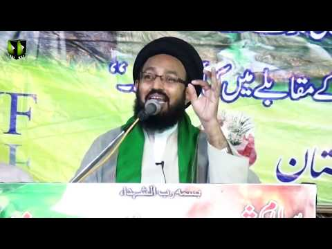[Speech] Eid e Zehra (sa) , Difa e Wilayat Wa Marjaeyat Rally   H.I Sadiq Raza Taqvi - Urdu