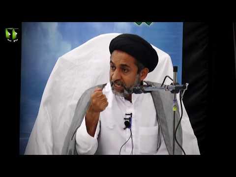 [Clip] Aman o Salamti Ka Hussul Seerat Rasool (saww) Ke Roshni May | H.I Muhammad Haider Naqvi - Urdu