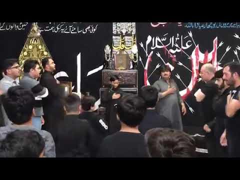 [Noha] Alwida ay Hussain (as) | Alamdar Moosavi | Husainiyah Pasmore Toronto - Urdu