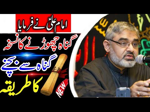 [Clip] 24 hours Gunah Se Bachne Ka Tarika    H.I Syed Ali Murtaza Zaidi Urdu