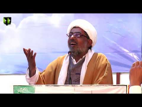 [Speech] Moulana Qurban Ali | Shab-e-Shohada |  Aashiqaan -e- Mehdi (atfs) Convention 2019 - Urdu