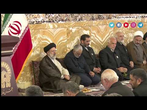 Qasim Soleimani In Holy Shrine of Imam Reza as - Urdu