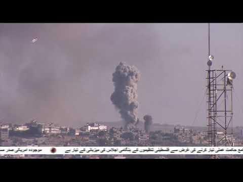 غزہ پر صیہونی بمباری  - 27 جنوری 2020 - Urdu