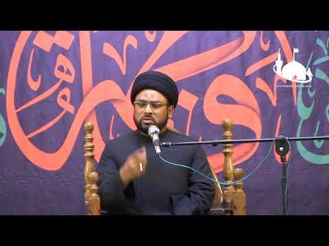 Ayyam-e-Fatmiyah 1st  Majalis | Maulana Zaigham Rizvi | Holy Shrine Bibi Masooma e Qom - Urdu