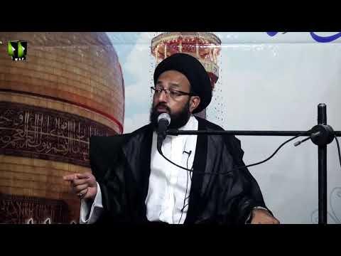 [Majlis] Topic: Mohabbat -e- Ahlebait (as) Ka Maani Or Faeday | H.I Sadiq Raza Taqvi - Urdu