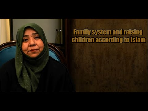 Family system and raising children according to Islam | Class 2 | Part 1 | Khanam Sakina Mahdavi - Urdu