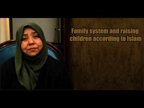 Family system and raising children according to Islam   Class 2   Part 2   Khanam Sakina Mahdavi - Urdu