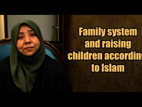 Family system and raising children in Islam | Class 7 | Khanam Sakina Mahdavi - Urdu