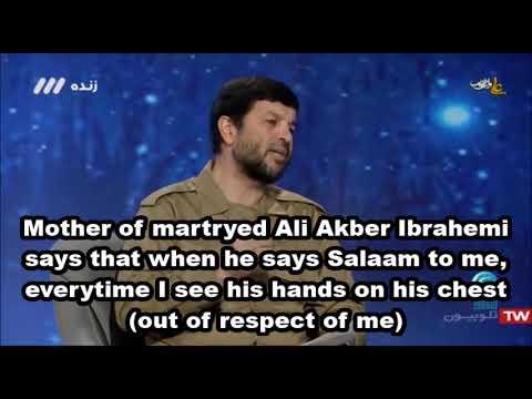 #Martyr #respect for #mom #Family - Farsi Sub English