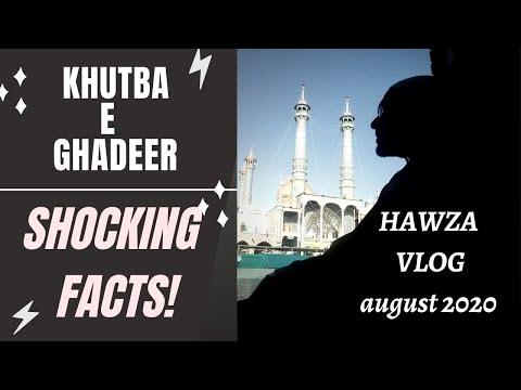 HAWZA Vlogs | Statistical Analysis of Khutba e Ghadeer | SHOCKING FACTS - Urdu