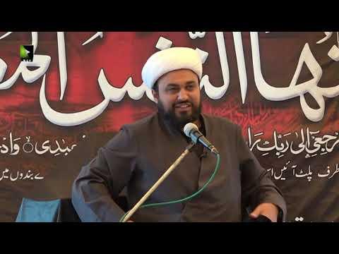 [07] Ashura Aur Intizar | حجّۃ الاسلام مولانا محمد علی فضل | Urdu