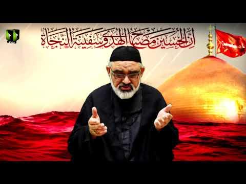[6] Maktab -e- Ahlebait(as) Kay  Muqawamati Anasir | H.I Ali Murtaza Zaidi | Muharram 1442/2020 | Urdu