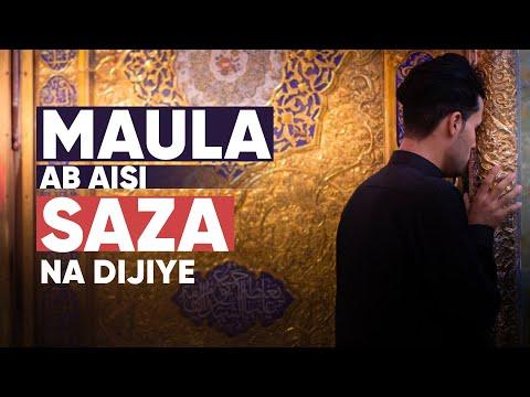 [Arbaeen] Maula Ab Aisi Saza na Dijiyega | Sab ziarat ke liye chale gaye aur ham rahe gaye: Abid Raza Naushad Urdu