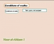 Noor Al-Ahkam - 11 Conditions of Wudhu - English