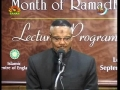 Characteristics of The Pious - Lecture 2 - Brother Ahmed Haneef - English
