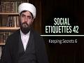 Social Etiquettes 42   Keeping Secrets 6   Farsi Sub English
