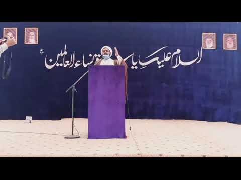 [Speech] Maulana Riyasat Hussain Jafri | 19th Jashan e Wiladat e Hazrat Fatimah s.a  - Urdu