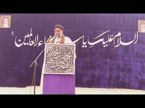 [Speech] Maulana Qalb e Abbas Naqvi | 19th Jashan e Wiladat e Hazrat Fatimah s.a  - Urdu