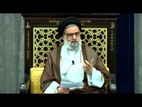 What is the Essence of Taqwa?; Qualities of a \'Muttaqee\' - Maulana Syed Muhammad Rizvi | English