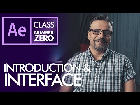 After Effects Class ZERO Introduction and Interface - Urdu / Hindi