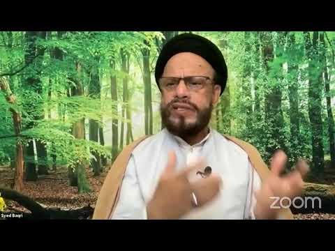 [Lecture Twelfth] Revival احیا By Syed Muhammad Zaki Baqri - Urdu