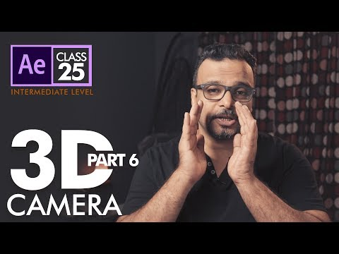 3D Camera Animation in After Effects Class 25 - اردو / हिंदी