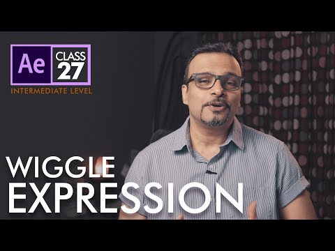 Wiggle Expression in After Effects Class 27 - اردو / हिंदी