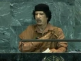 Gaddafi blasts big powers at U.N. - 23Sep09 - English