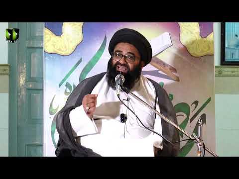 [4] Tafsir Surah -e- Al Maaoon - تفسیر سورہ الماعون | H.I Kazim Abbas Naqvi | Mah-e-Ramzaan 1442 | Urdu