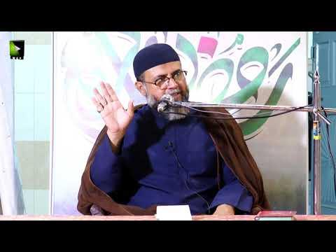 [2] Ramzaan Or Emaan | Moulana Ali Naqvi Hashmi | Mah-e-Ramzaan 1442 | Urdu