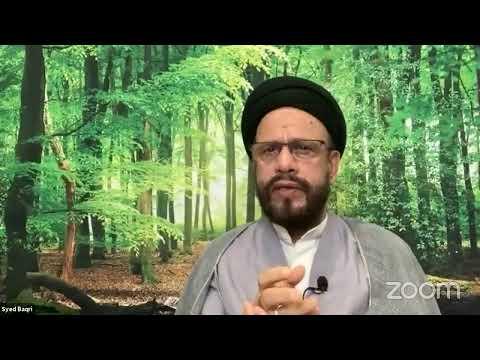 🔴Live Online ZOOM Dars 3 | Public Live Questions With Zaki Baqri |Quran: Constitution of Mehdi A.S | Urdu
