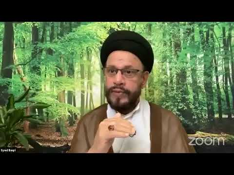 🔴Live Online ZOOM Dars#4 | Public Live Questions With Zaki Baqri |Quran: Constitution of Mehdi A.S | Urdu
