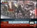 40 Martyred - CCTV footage - Suicide Blast Karachi Pakistan Dec 28 2009 - All Languages