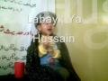 Baby reply to the call of Imam Hussain (AS) - Labayk YA Hussain!