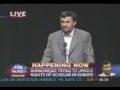 Iranian President Mahmoud Ahmadenijad Columbia Univ. 5 of 6
