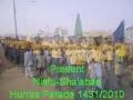 Shia Strength in Nigeria -  Nisfu Shaaban1431 (***woman song in back ground***) - Nigerian