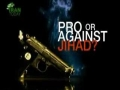 Pro or Against Jihad? - English
