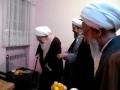 Ayatollah Saafi Gulpaygani meeting with Ayatollah Javadi Amoli - Farsi