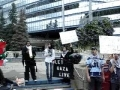 1 - June 5 2010 - Protest Agains Israeli Attack - Calgary - English